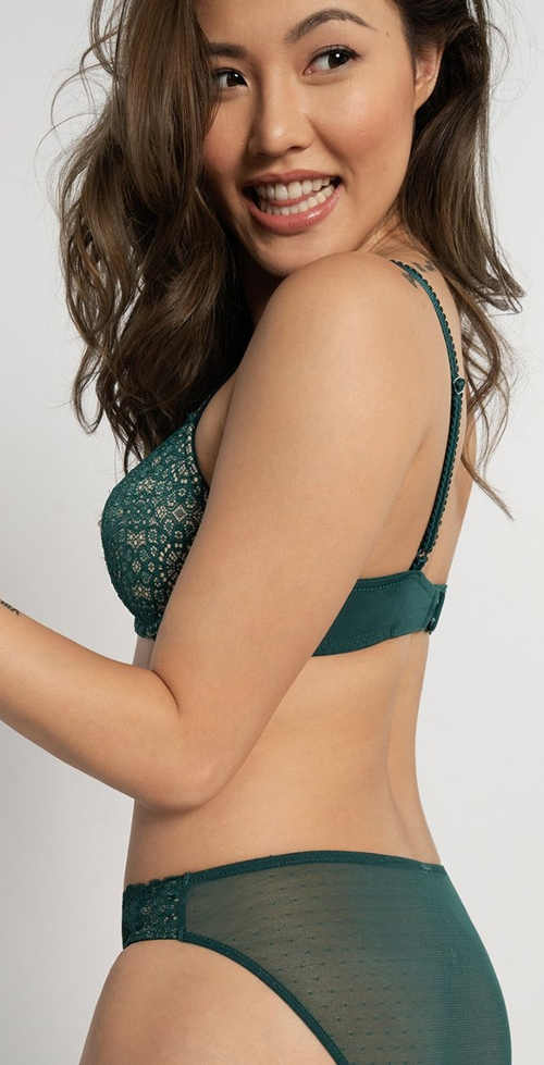 Zelené dámske spodné prádlo Dorina