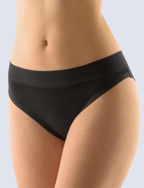 Čierne dámske bedrové nohavičky Gina