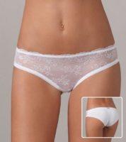 Lacné dámske bedrové nohavičky s čipkou Lovely girl 5713