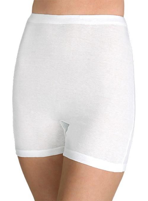 Vysoké sťahovacie bavlnené nohavičky